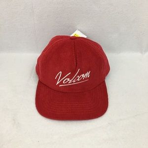 Volcom animal hour hat red